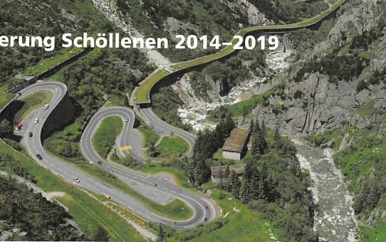 Erneuerung Schöllenen 2014 - 2019