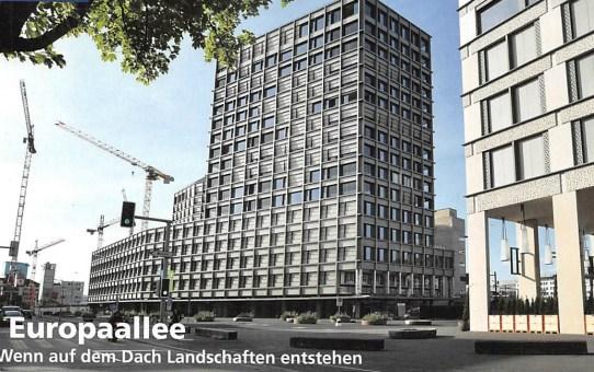 Zürich Europaallee - Baufeld G: Wenn auf dem Dach Landschaften entstehen