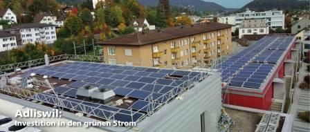 Investition in den grünen Strom