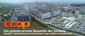 Schafisheim, Neubau und Erweiterung Verteilerzentrale