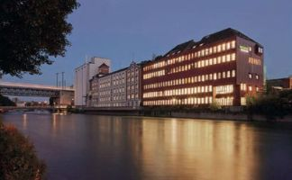 Swissmill vor dem Silobau