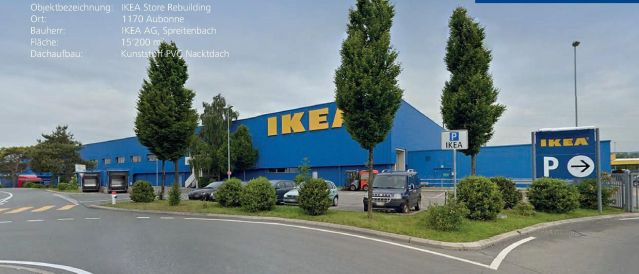 Aubonne, IKEA Store Rebuilding