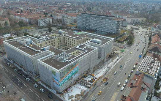 Neubau Felix Platter-Spital Basel