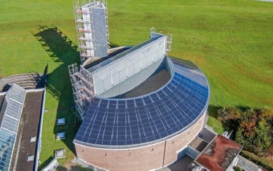 Kloster Uznach, Ersatz des Blechdachs durch eine Photovoltaik-Anlage