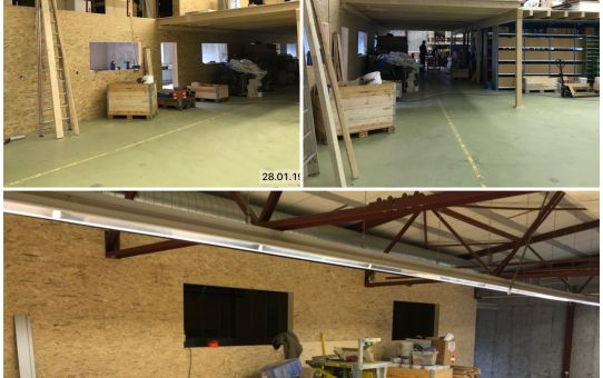 Neuer Werkhof der tüscher Dach AG