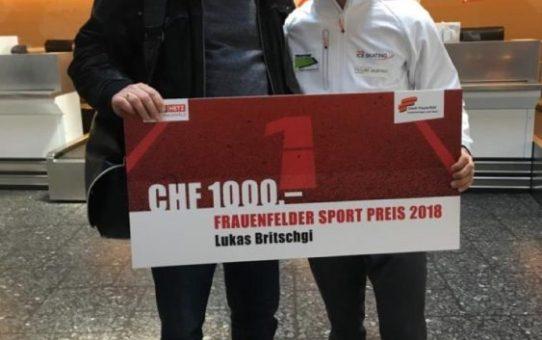 Frauenfelder Sport Preis 2018