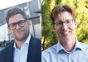 Benedikt Marti und Daniel Brupbacher