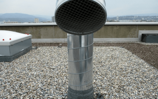 Dach-Bestandesaufnahme in Basel