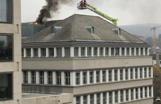 Temporärer Witterungsschutz nach einem Brandfall