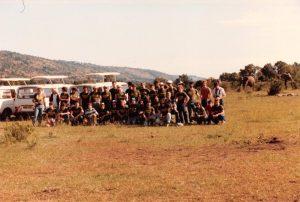 TECTON-Reise 1986 Kenia