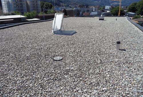Dach-Bestandesaufnahme in Bellinzona
