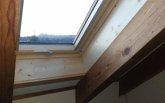 Austausch der Dachfenster