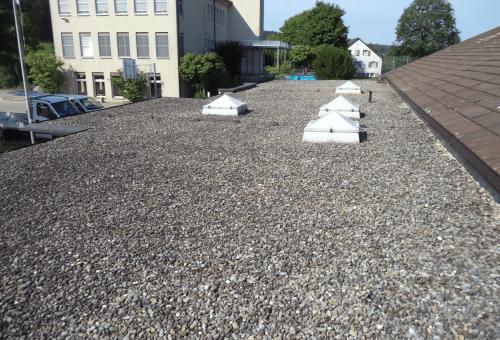 Dach-Bestandesaufnahme in Gundetswil (ZH)