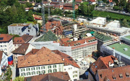 Bäderquartier Baden - Umbau und Sanierung des Verenahof-Gevierts