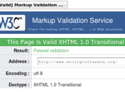 html and css validation service