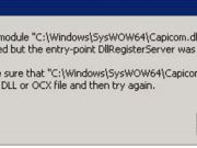 Error To Install Capicom.dll in windows 64 bit