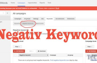 how-to-add-negative-keywords