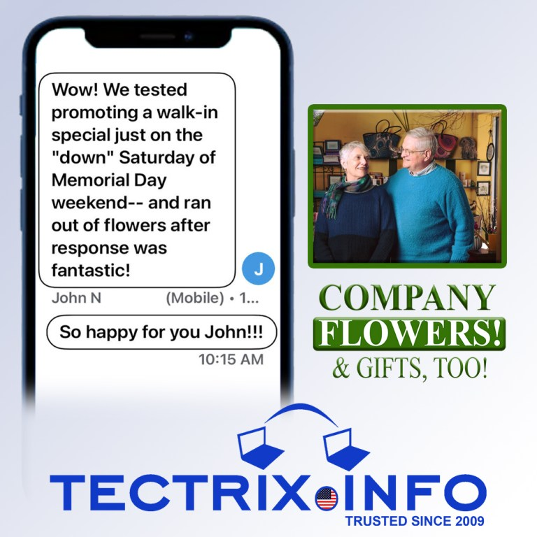 Company-Flowers-TECTRIX-since-2009