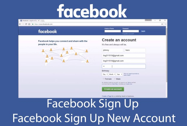 Facebook Sign Up - Facebook Sign Up New Account