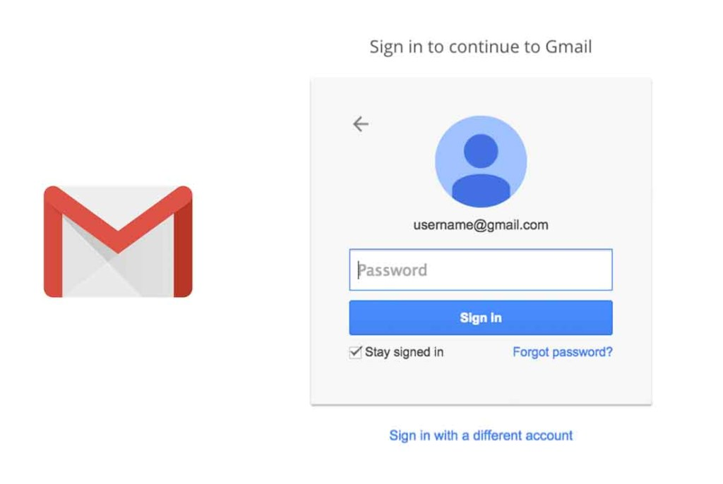 Account login password gmail How to