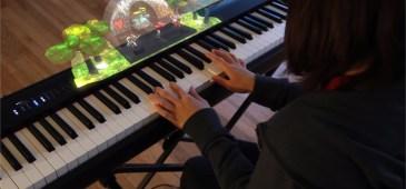 Aprender a tocar el piano con realidad aumentada