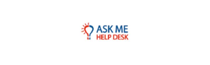 Ask me help desk logo