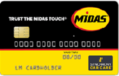 Midas Credit card