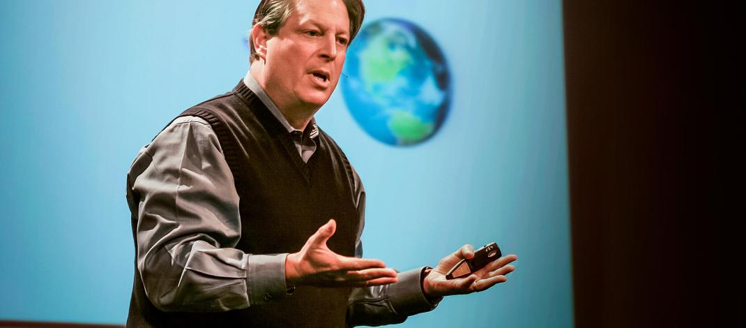 Al Gore: Averting the climate crisis
