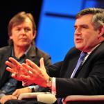 Gordon Brown: Global ethic vs. national interest