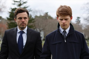 Casey Affleck and Lucas Hedges in Manchester by the Sea