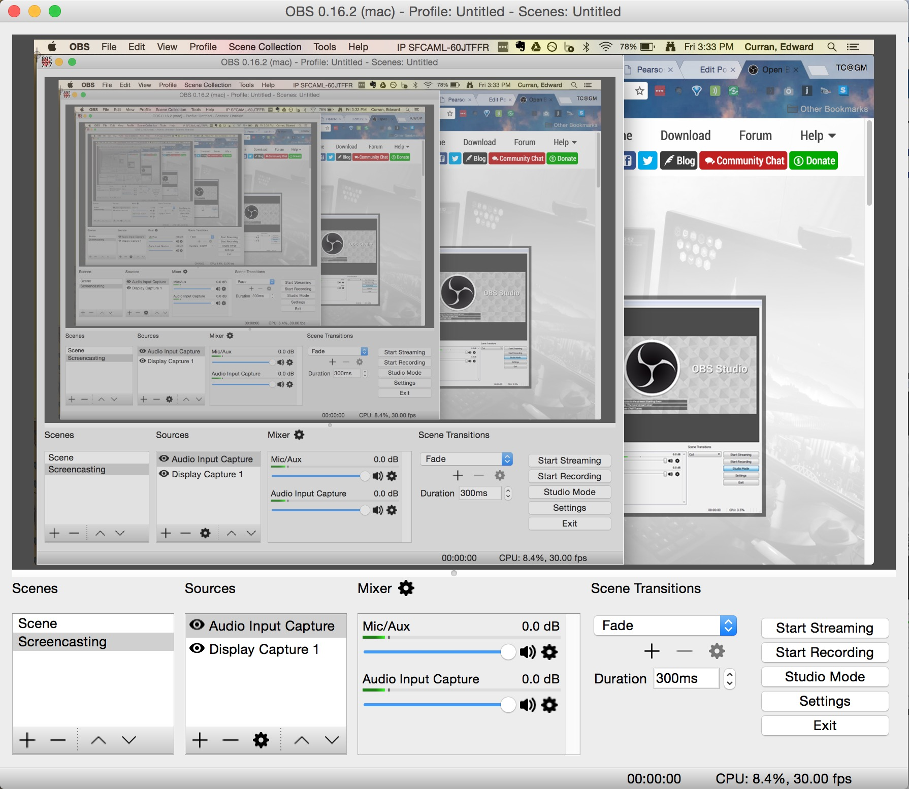 open broadcaster software the only screencasting app you ll ever