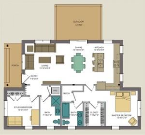 Unity Homes Xyla Floor Plan