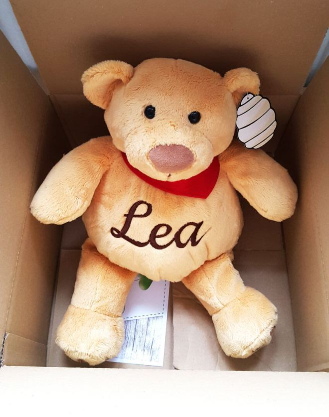 Teddy mit Name