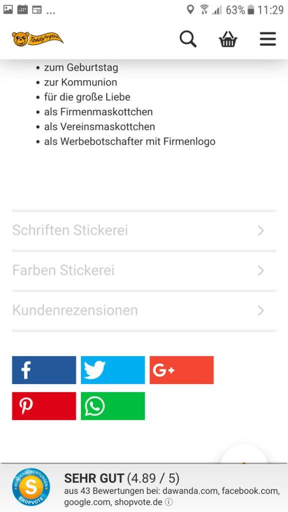 Plüschtier mit Namen - Auswahl Stickgarnfarbe und Schriften