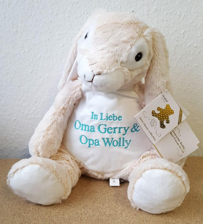 Plüschtier Classic Hase mit Name