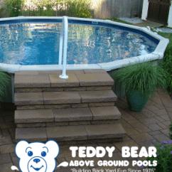 Teddy Bear Above Ground