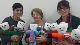 from the Creative Angels, part of the Women's Creative Centre at Greenslopes - thank you!