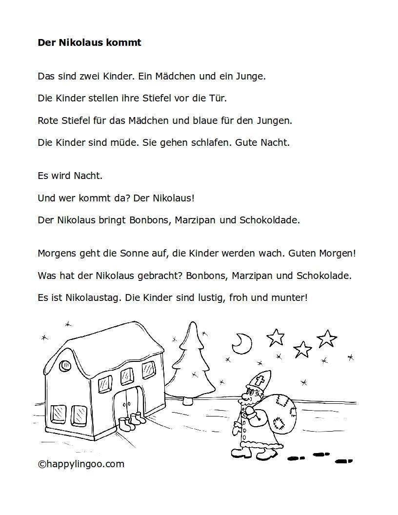 Text Für Nikolaus