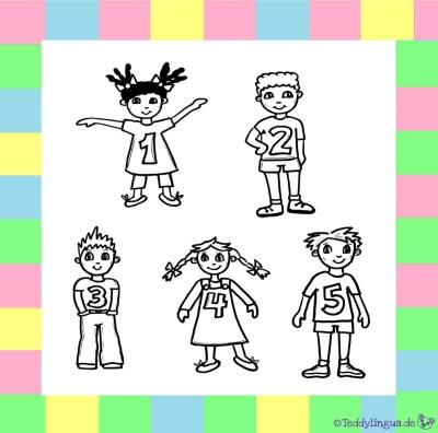 Kinder Zahlen 5