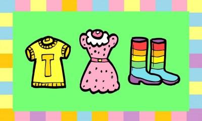 Bildkarten Kleidung