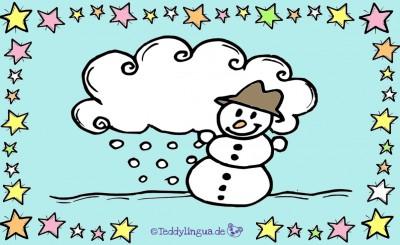 Bildkarten Winter und Weihnachten
