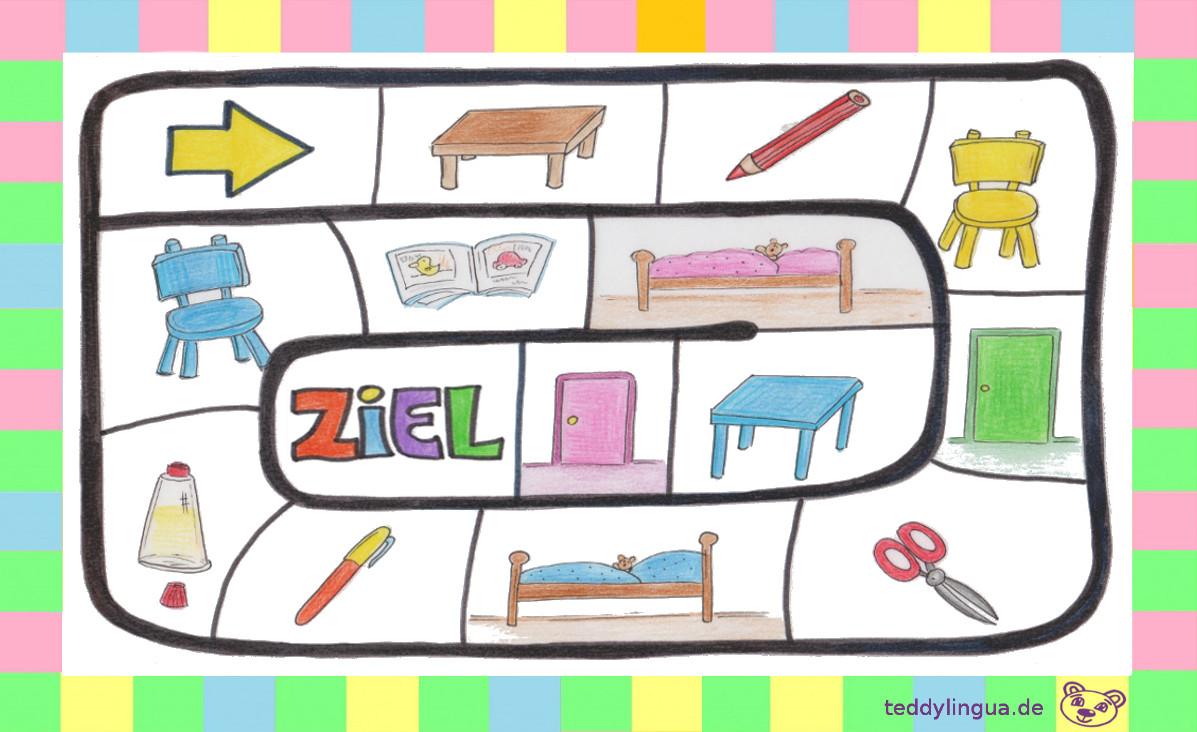 Brettspiel Farben | Teddylingua