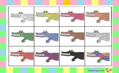 Lottospiel: Krokodile