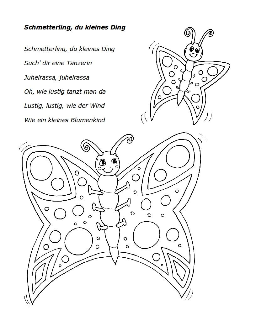 Colorful Symmetrie Schmetterling Arbeitsblatt Festooning - Mathe ...