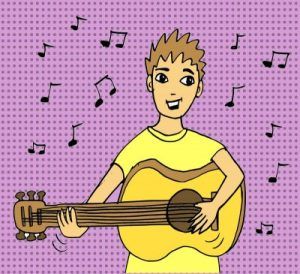 gitarre-spielen