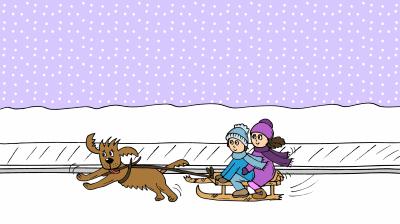 34 Sie fahren immmer weiter und weiter im Schnee