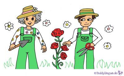 die Gärtnerin, der Gärtner