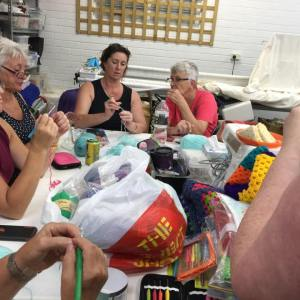 Workshops Crochet for a cause