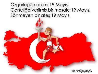 Május 19. a sport és ifjúság ünnepe Törökországban