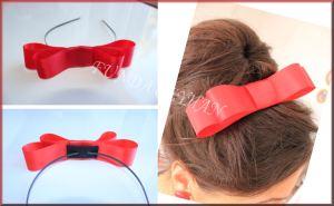 A piros szalag, amit az anyuka hajába tesznek a szülést követően (Forrás: fundaceyhanla.blogspot.com)